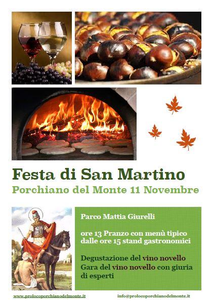 Giorno Di San Martino Calendario.San Martino Proloco Porchiano Del Monte